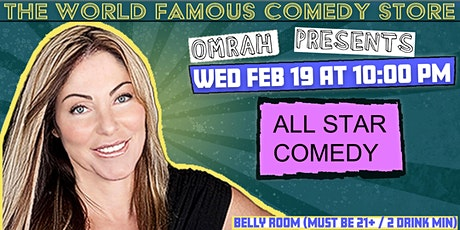 Omrah Presents at The World Famous Comedy Store tickets