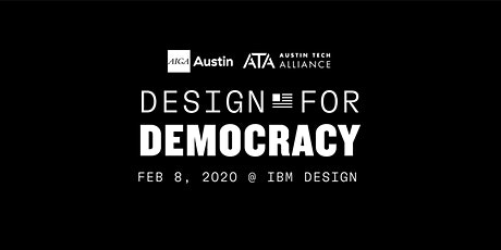 Design for Democracy 2020 Workshop tickets