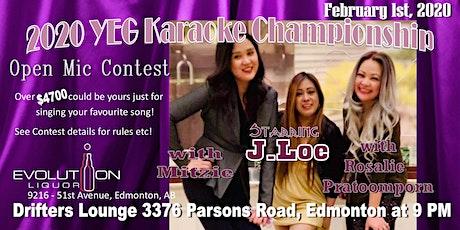 YEG Karaoke Night Hosted By J. Loe tickets