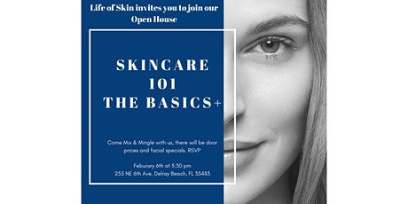 Skincare 101: The Basics+ tickets