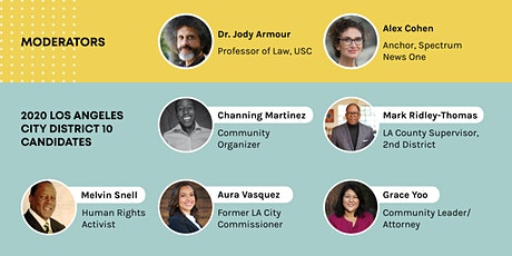 2020 Los Angeles City Council District 10 Candidates Forum tickets