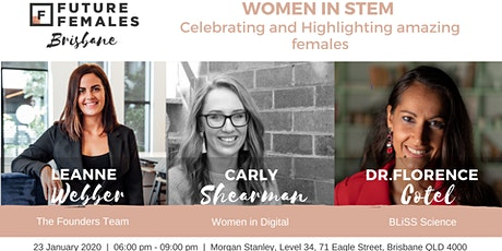 WOMEN IN STEM.... Celebrating and Highlighting amazing females tickets