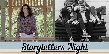 Zachary Leo (Storytellers Night) tickets