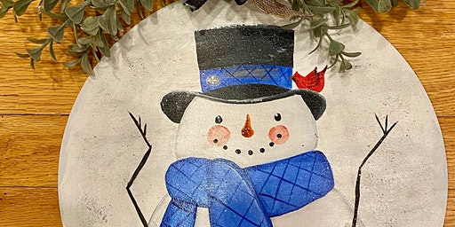 Paint Night Snowman for a Cause
