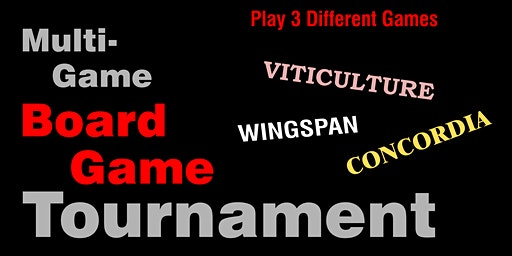 Muli-Game Board Game Tournament