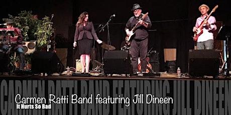 The Carmen Ratti Band w/Jill Dineen tickets