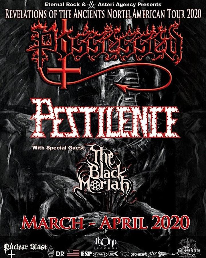 Possessed, Pestilence, The Black Moriah image