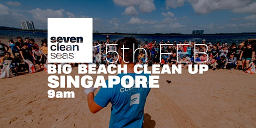 BIG BEACH CLEAN UP - Singapore - FEB