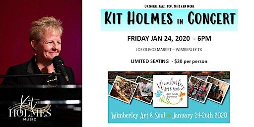 Kit Holmes - Wimberley Art & Soul Concert at Los Olivos