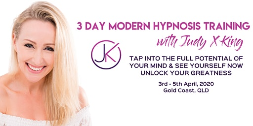 3-Day MODERN HYPNOSIS CERTIFICATION TRAINING (3rd-5th April, 2020)