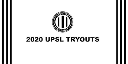 2020 UPSL TRYOUTS