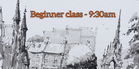 """Sketching in Pencil, Ink and Graphite the  """"Fast & Furious"""" Way-BEGINNERS tickets"""