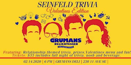 Seinfeld Trivia Night: Valentines Edition