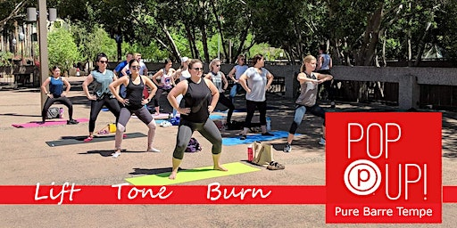 Pure Barre Pop Up  at 6th Street Market