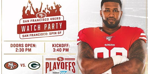 Official 49ers Watch Party - NFC Championships