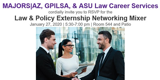 Law & Policy Externship Networking Mixer