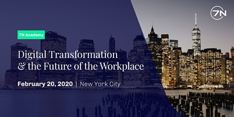 Digital Transformation and the Future of the Workplace tickets