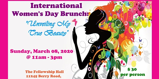"International Women's Day Brunch: ""Unveiling My True Beauty"""