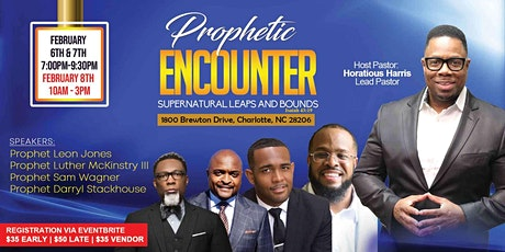 Prophetic Encounter: Supernatural Leaps and Bounds tickets