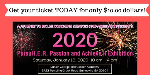 2020 PursuH.E.R. Passion and Achieve It Exhibition