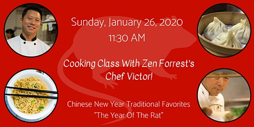 Cooking Class:  Chinese New Year Traditional Favorites