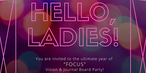 2020 Vision and Journal Board Party