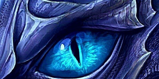 Family Art Night: Ice Dragon Eye