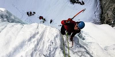 Escalade de glace – Lac sylvère – intermadiaire