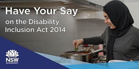 Consultation: Review of the Disability Act 2014 tickets