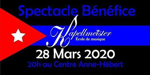 Spectacle bénéfice - École de musique Kapellmeister