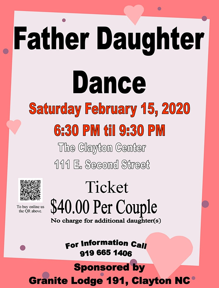 Father and Daughter Dance,  Sponsored by Granite Lodge 191 image