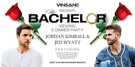 The Bachelor Viewing & Dinner Party With Jordan Kimball & Jed Wyatt tickets