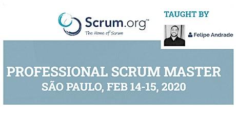 Treinamento Oficial Professional Scrum Master (PSMI) - Scrum.org ingressos