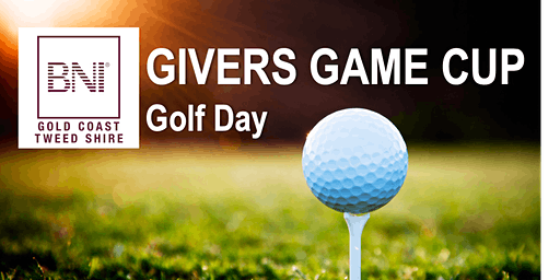 Givers Game Cup Golf Day