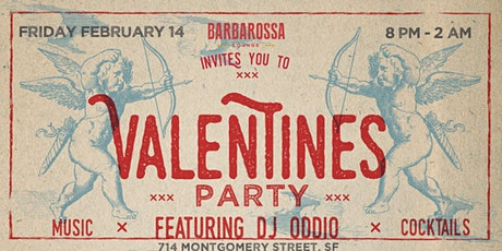Barbarossa's Valentine's celebration tickets
