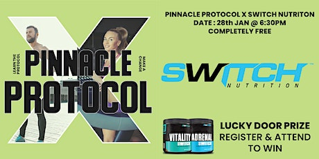 Switch Nutrition & Pinnacle Protocol Seminar tickets