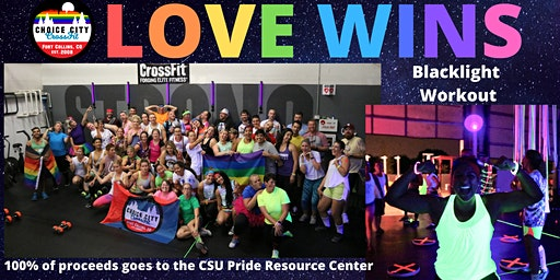 LOVE WINS Blacklight Workout