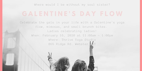 Galentine's Day Yoga Flow tickets