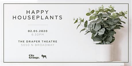 Simple Secrets for Happy Houseplants tickets