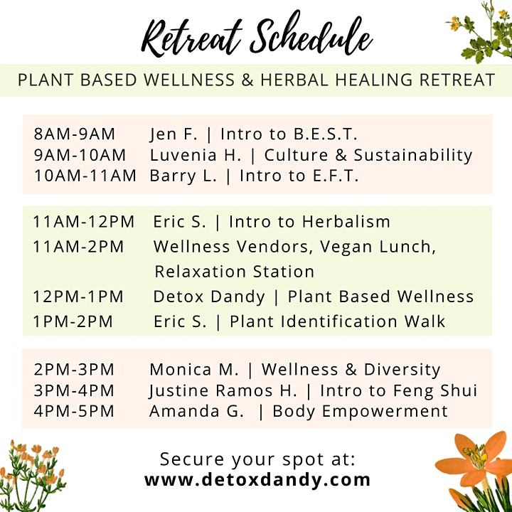 Plant Based Wellness & Herbal Healing Retreat image