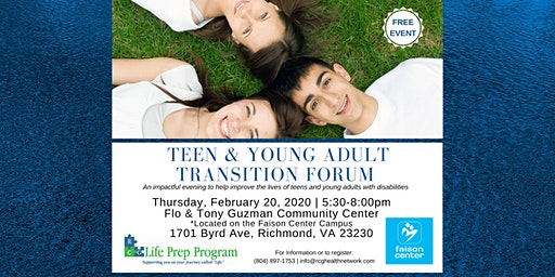 Teen and Young Adult Transition Forum