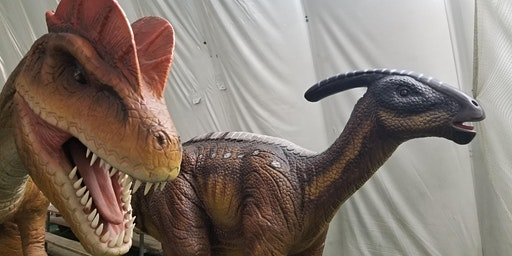 Dinosaurs LIVE Fundraiser Event to support  Indian River Reptile Sanctuary