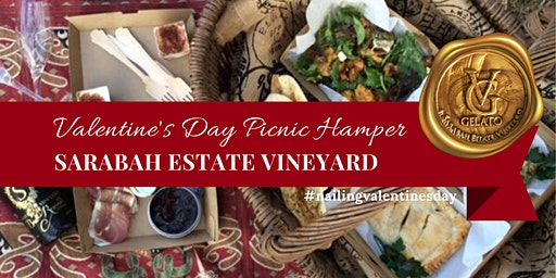 Valentine's Day Picnic Hamper