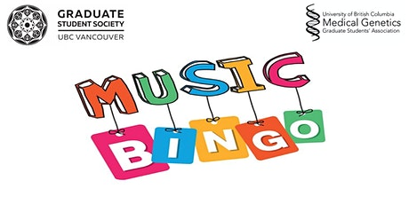 Music Bingo Presented by Medical Genetics Graduate Students' Association tickets
