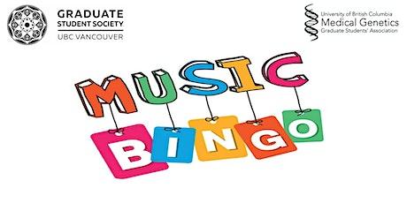Music Bingo Presented by Medical Genetics Graduate Students' Association tickets