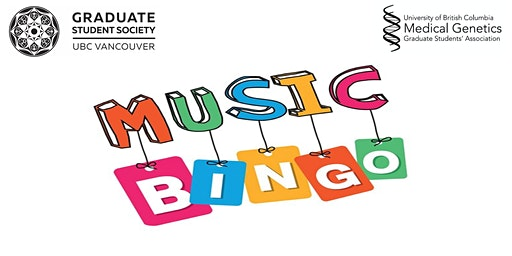 Music Bingo Presented by Medical Genetics Graduate Students' Association