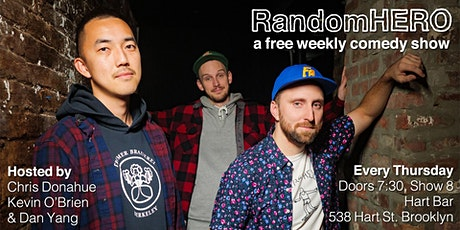 Random Hero - Free Stand-Up Comedy at Hart Bar - JAN 23RD tickets