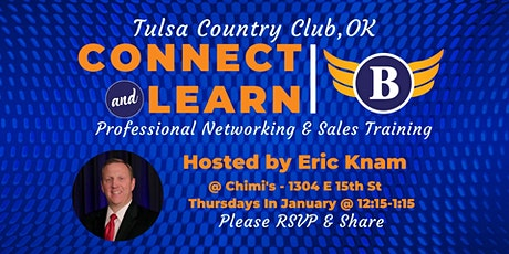 Bold Networking Event @ Tulsa Country Club - Temp Location @ Chimi's Mexican Food tickets