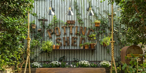 Dinner in The Potting Shed | Valentine's Day at The Grounds