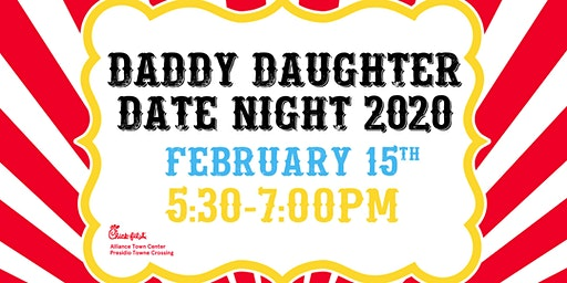 Daddy Daughter Date Night | 5:30-7:00PM